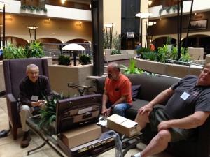 Arnie, Steve Hazlett & Galen