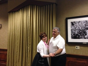 Janet & Gary Heavin enjoying a dance.