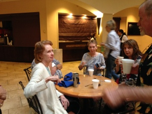 Joan Doty, Ellen Richardson & Christina Katsikas.