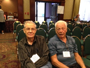 Arnie Snell & Bud Martin.