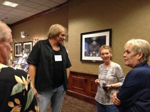 Dick Betker, Ellen Richardson (from England) and Kate Lavelle.