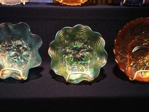 Green Rose show bowl