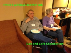 Don and Barb Chanbelain 2015 convention