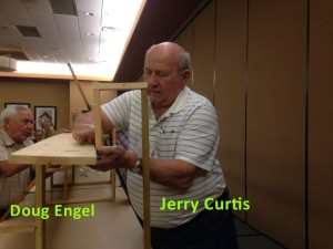 Jerry and Doug Building Risers