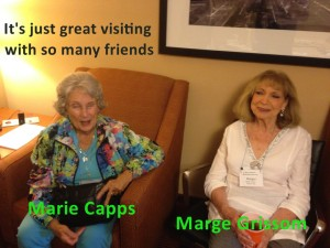 Marie Capps & Marge Grisson 2015 Convention